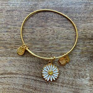 Alex and Ani daisy bracelet